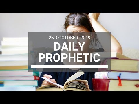 Daily Prophetic 2 October 2019 -  Word 8