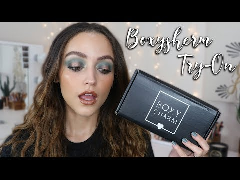 JULY BOXYCHARM UNBOXING | 2019 (Try on- First Impressions) - UC8v4vz_n2rys6Yxpj8LuOBA
