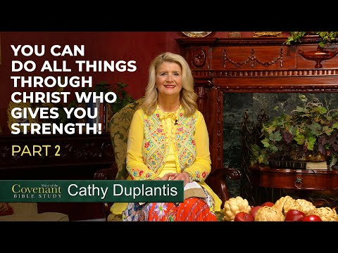 Voice of the Covenant Bible Study, April 2020 Week 2  Cathy Duplantis