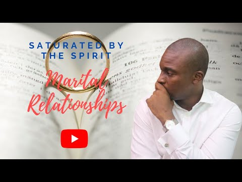 THE SCHOOL OF TYRANNUS  STUDY OF EPHESIANS: SATURATED BY THE SPIRIT (MARRIAGE)  DAVID OYEDEPO JNR