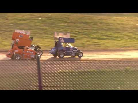 6/27/17 Junior Sprint Feature Beaver Dam Raceway - dirt track racing video image