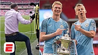 Manchester City complete historic treble in stunning style, Craig Burley dances | FA Cup