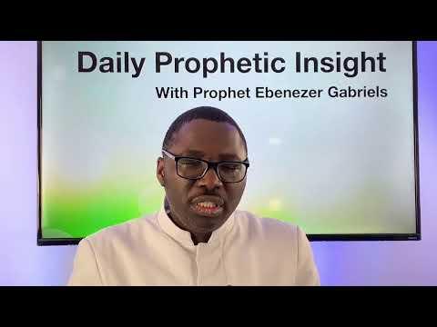 Prophetic Insight - January 17, 2021