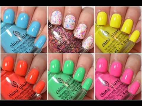 China Glaze Summer 2015 Swatch and Review | Electric Nights - UCm2xivpFV73dnQRxmUBGBrQ