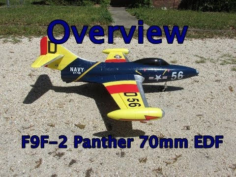 HobbyKing Daily - F9F-8 90mm EDF Cougar | f-sport lt
