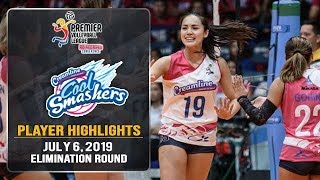 BORN WINNER: Michele Gumabao shows up just in time to will Creamline to the Finals | #PVL2019
