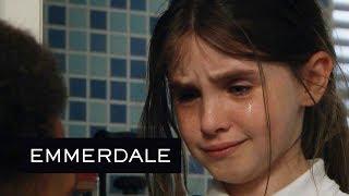 Emmerdale - April Manages to Escape Max's Clutches