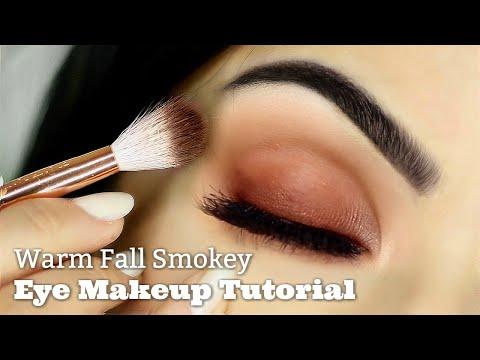 Beginners Warm Smokey Eye Makeup Tutorial   Parts of the Eye   How To Apply Eyeshadow - UC-1-zPmT368J8JRbsK_1keA