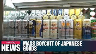 S. Korean boycott of Japanese goods spreads amid escalating trade tensions