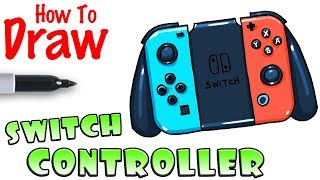 How to Draw the Nintendo Switch Controller