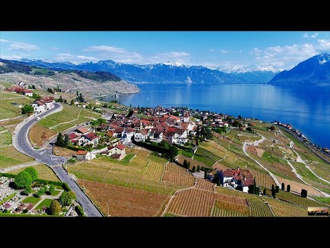10 YEARS of LAVAUX Patrimoine Mondial - Lavaux from West to East, SWITZERLAND [4K drone footage] - UCZmIbls0bS0nfIb02Tj2khA