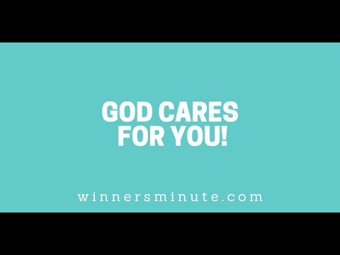 God Cares for You! // The Winner's Minute With Mac Hammond