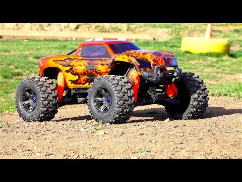 RC ADVENTURES - SiCKEST Monster Truck Body I've EVER SEEN! Unboxing a Double Flame Traxxas X-MAXX MT - UCxcjVHL-2o3D6Q9esu05a1Q