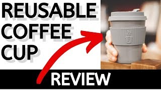 Reusable Coffee Cup (Seal Spill Stopper) Joe Cup Premium Organic Bamboo