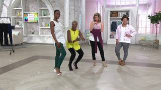 Women with Control Pull-On Ponte Royale Leggings on QVC
