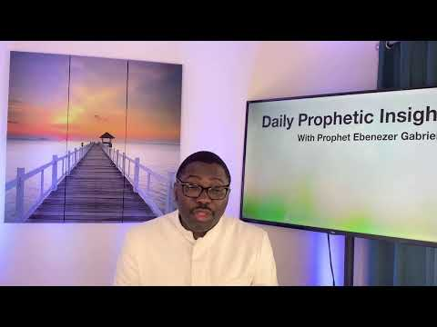 Prophetic insight  Mar 22nd, 2021