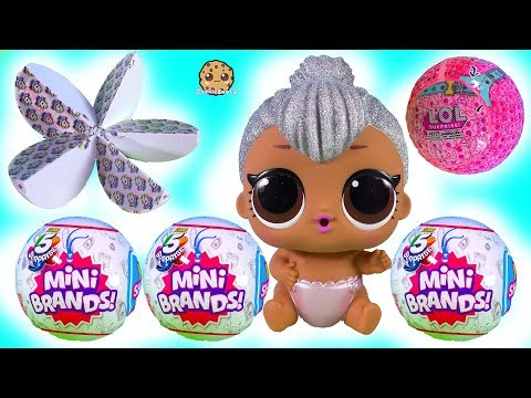 Real Looking Tiny Food 5 Mini Brands Blind Bag Balls + LOL Surprise Video - UCelMeixAOTs2OQAAi9wU8-g