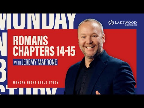 Romans 14-15  Jeremy Marrone