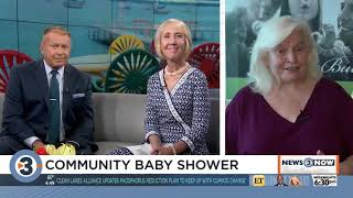 Donate baby essentials at 2019 Community Baby Shower