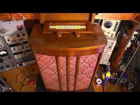 "Electronic Restoration Fun- 1947 Rogers ""Chairside"" Radio! - UCU9SoQxJewrWb_3GxeteQPA"