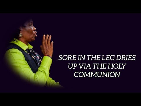 Striking Testimony: Sore in the Leg Dries Up
