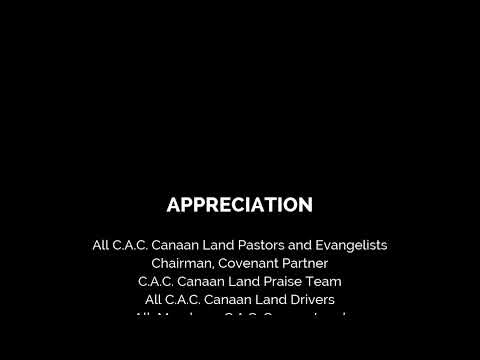 C.A.C CANAAN LAND W/W