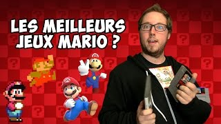 Les meilleurs jeux Mario ?