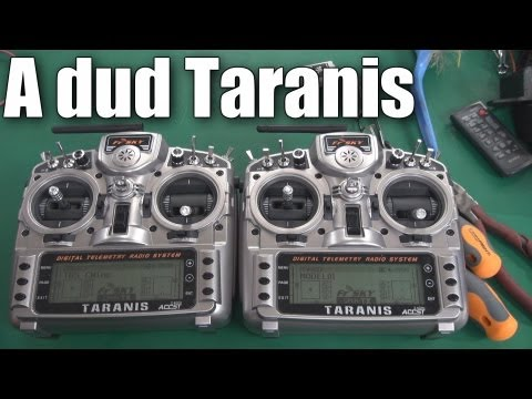 FrSky Taranis fault (nothing's perfect) - UCahqHsTaADV8MMmj2D5i1Vw