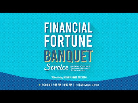 DOMI STREAM: FINANCIAL FORTUNE BANQUET SERVICE  25, APRIL 2021.