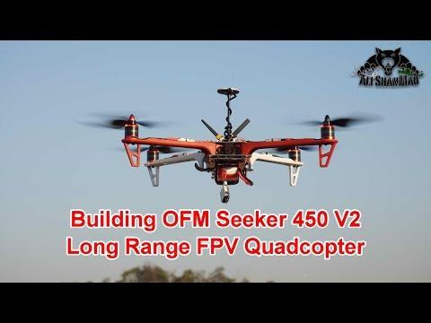 Building the OFM Seeker 450 V2 Long Range FPV Quadcopter - UCsFctXdFnbeoKpLefdEloEQ