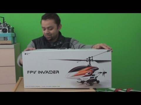 Unboxing Invader helicopter with built in FPV System - UCsFctXdFnbeoKpLefdEloEQ