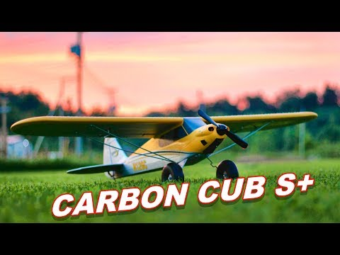 BEST Beginner RC Plane 2018 - HobbyZone Carbon Cub S+ Airplane - TheRcSaylors - UCYWhRC3xtD_acDIZdr53huA