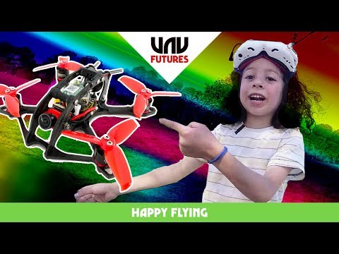 WORLDS MOST EXCITED 6yr OLD tries FPV racing drones!! Happy flying #35 - UC3ioIOr3tH6Yz8qzr418R-g