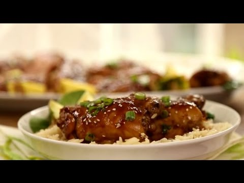 Chicken Recipes - How to Make Oven Roasted Teriyaki Chicken - UC4tAgeVdaNB5vD_mBoxg50w