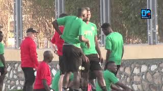 Mbaye Niang et Alfred Ndiaye ménagés à l'entraînement des Lions, ce dimanche