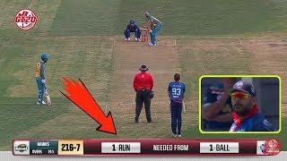 देखिये मैच की आखरी गेंद पर युवराज सिंह ने जीत लिया होता मैच, अगर नहीं होता ये हादसा