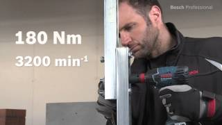 Akulöökmutrikeeraja Bosch GDX 18 V-Li