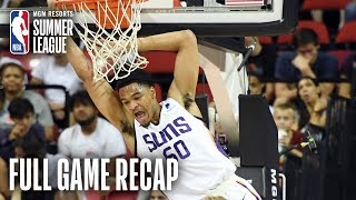 KNICKS vs SUNS | Suns Outlast Knicks In OT | MGM Resorts NBA Summer League