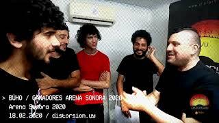 Entrevista a Búho, ganadores de  Arena Sonora 2020 (18.02.2020)