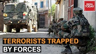 Terrorists Trapped By Security Forces In Srinagar, Exchange Of Fire Underway