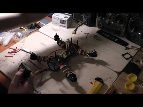Часть вторая. Сборка гоночного квадрокоптера ZMR 250. Установка полётного контролера и его прошивка. - UCMeXjyAWUg5xwpBaTaFYPnA