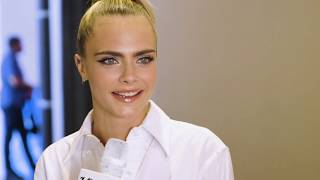 Cara Delevingne on Playing her