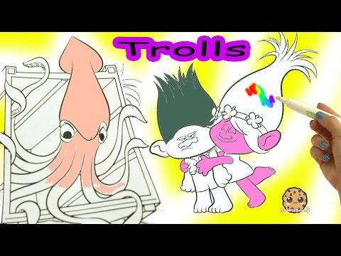 Dreamworks Trolls Poppy + Branch Magic Imagine Ink Rainbow Color Pen Surprise Picture Coloring Video - UCelMeixAOTs2OQAAi9wU8-g