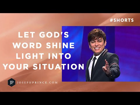 Let God's Word Shine Light Into Your Situation  Joseph Prince #Shorts