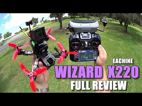 Eachine WIZARD X220 FPV - Full Review - [Unboxing / Inspection / Flight-CRASH! Test / Pros & Cons] - UCVQWy-DTLpRqnuA17WZkjRQ