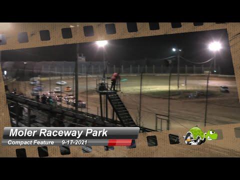 Moler Raceway Park - Compact Feature - 9/17/2021 - dirt track racing video image