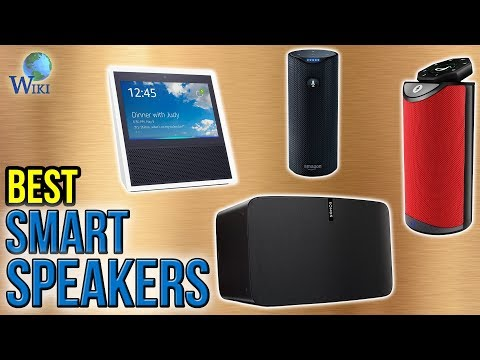 10 Best Smart Speakers 2017 - UCXAHpX2xDhmjqtA-ANgsGmw