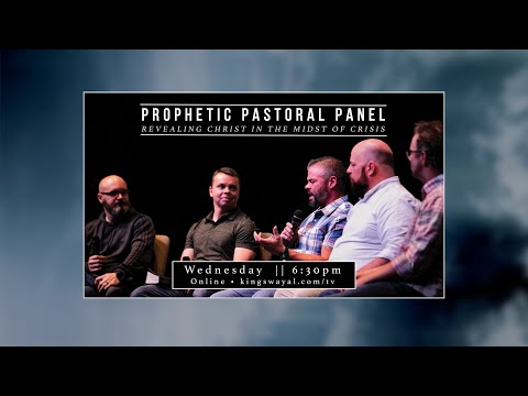 This Wed @ 6:30pm - A Prophetic Pastoral Panel Revealing Christ in the Midst of Crisis