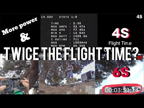 What's up with 6S vs 4S? (UNCUT Comparison) | FPV Freestyle - UCQEqPV0AwJ6mQYLmSO0rcNA