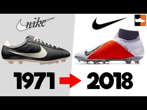 779750837b6e The Evolution of Nike Football Boots! Soccer Cleat History